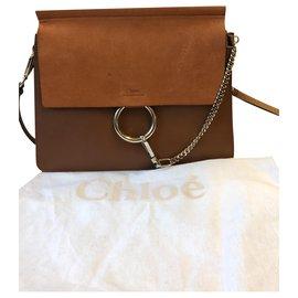 Chloé-Handbags-Caramel