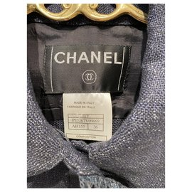 Chanel-Jackets-Blue