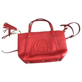 Gucci-Soho hobo-Red