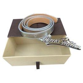 Louis Vuitton-Gürtel-Silber