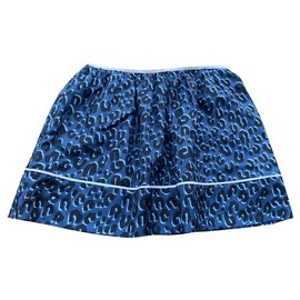 Louis Vuitton-Skirts-Blue