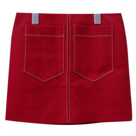 Chloé-Skirts-Red