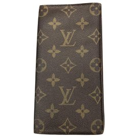 Louis Vuitton-Portefeuille Monogram-Marron
