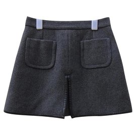 Céline-Skirts-Black,Grey