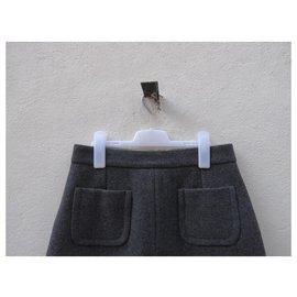 Céline-Skirts-Black,Grey