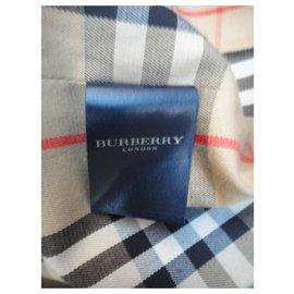 Burberry-Burberry London Herren Regenmantel 52-Khaki