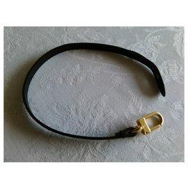 Louis Vuitton-LOUIS VUITTON Lace for bags and keys-Black,Golden