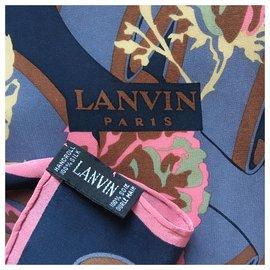 Lanvin-soie 79x75 cm-Multiple colors