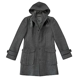 Paul & Joe-Men Coats Outerwear-Black,Grey
