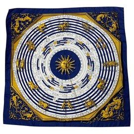 Hermès-Astrologie-Marineblau