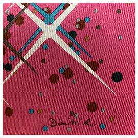 Hermès-Schals-Pink