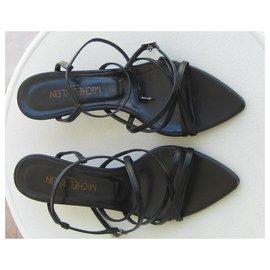 Michel Klein-Sandals-Black