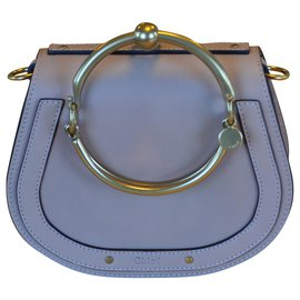 Chloé-Small Nile Bracelet Bag-Beige