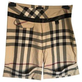 Burberry-Girl Shorts-Beige