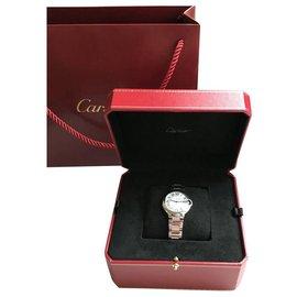 Cartier-Cartier Ballon Bleu de Cartier watch 33 MM-Silvery