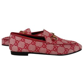 Gucci-Gucci New Jordaan Slipper-Rot
