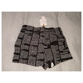 John Galliano-Swim shorts Underwear T /2 is 40FR USA XS..S..GB32..F2..I46-Black