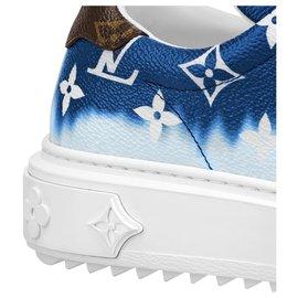 Louis Vuitton-Tênis LV Escale novo-Azul