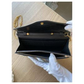 Céline-Clutch bags-Dark blue