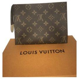 Louis Vuitton-Louis Vuitton Pochette Monogram-Marron