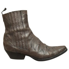 Sartore-western boots Sartore p 38-Brown
