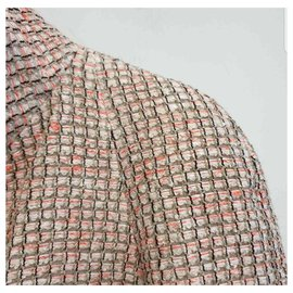 Chanel-Authentic CHANEL jacket sz 36-Coral