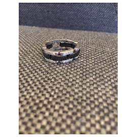 Chanel-Ultra Chanel ring-Black,Silvery