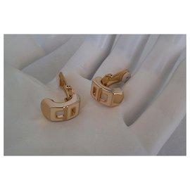 Dior-LOGO CLIPS-Golden