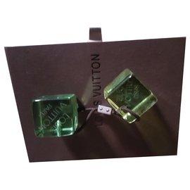 Louis Vuitton-Hair accessories-Light green