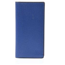 Louis Vuitton-Louis Vuitton Taiga-Bleu