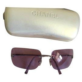 Chanel-Sunglasses-Purple