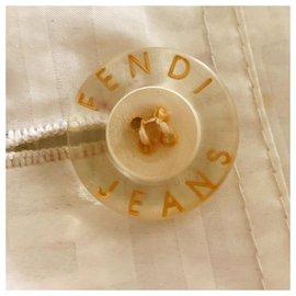 Fendi-Vintage Zucca FF Semi-Transparent PVC Jacket-Other