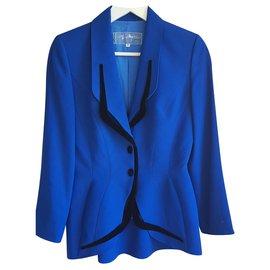 Thierry Mugler-Vintage-Bleu