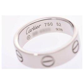 Cartier-Bague d'amour Cartier #52-Argenté