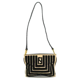 Fendi-Fendi Shoulder Bag-Beige