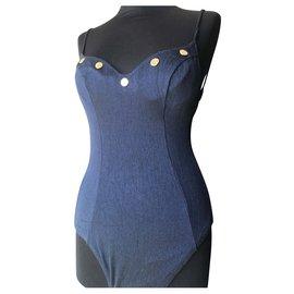 Dior-Dior swimsuit-Navy blue