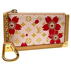 Louis Vuitton-Porte monnaie louis Vuitton-Rose