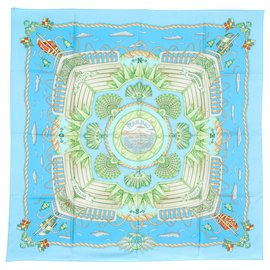 Hermès-RAILING BLUE SKY-Blau