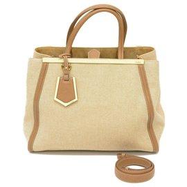 Fendi-Fendi handbag-Beige