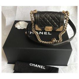Chanel-Very Rare Versailles Collection Boy Bag-Other,Dark grey