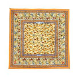 Hermès-Jagen in Indien-Orange