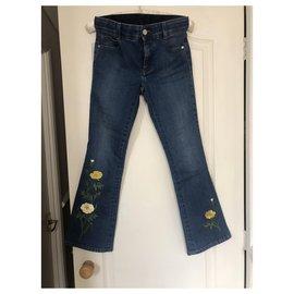 Stella Mc Cartney-jeans-Bleu foncé