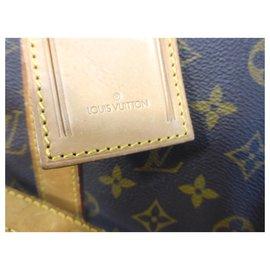 Louis Vuitton-KEEPALL 50 BANDOULIERE MONOGRAM-Marron