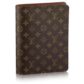 Louis Vuitton-LV Agenda Cover nouveau-Marron
