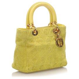 Dior-Cartable Dior Lady Dior Vert Daim-Vert,Vert clair