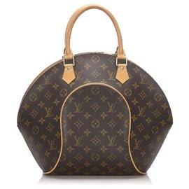 Louis Vuitton-Louis Vuitton Brown Monogramm Ellipse MM-Braun