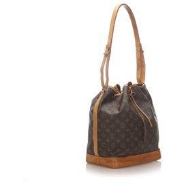 Louis Vuitton-Louis Vuitton Brown Monogramm Noe-Braun