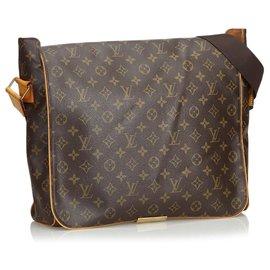 Louis Vuitton-Monogramm-Äbtissinnen Louis Vuittons Brown-Braun