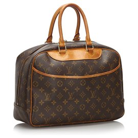 Louis Vuitton-Monogramm Deauville Louis Vuittons Brown-Braun