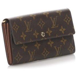 Louis Vuitton-Monogramm-Sarah-Geldbörse Louis Vuittons Brown-Braun